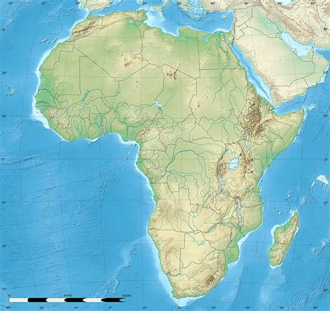 physical maps of africa blank physical map of africa new calendar template site