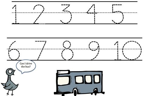 Free Tracing Numbers 1 10 Worksheets by Traceable Numbers 1 10 Worksheets 1000 Images About