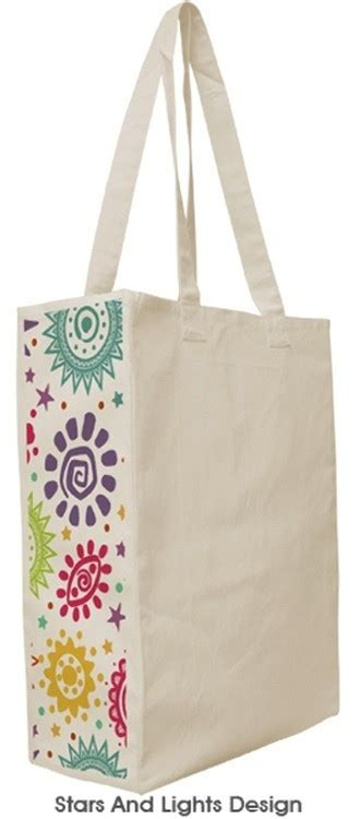 pattern for tote bag with gusset designer patterned gusset canvas tote bag custom logo