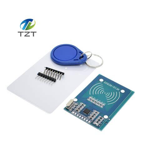Rc522 Rfid Rf Ic Card Sensor Module 10pcs lot mfrc 522 rc522 rfid rf ic card sensor module to