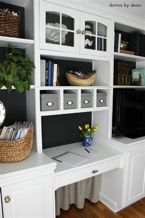 Shelves In Kitchen Instead Of Cabinets hiding our home office cords and wires with style