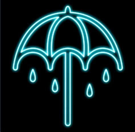 jual  patch emblem jaket denim payung teduh bmth bring