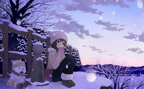 anime winter download anime winter wallpaper 42573 1680x1050 px high