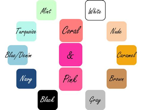 What Color Matches With Pink And Blue | matching colors coral and pink mix n dress