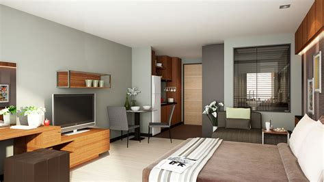 Decorating Ideas For One Bedroom Condo Patong Condo The Unity Patong Condo In Phuket Beautiful