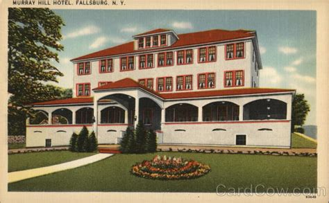 murray hill inn new york murray hill hotel fallsburg ny postcard
