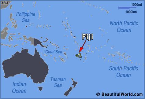 map world fiji fiji on world map my