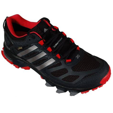 adidas response trail 20 running shoes black