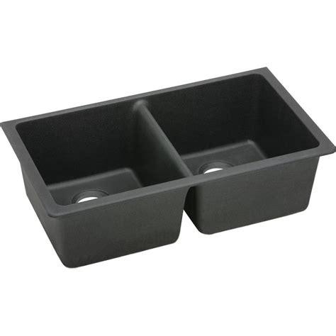 elkay e granite sink elkay elgu3322bk0 black bowl e granite gourmet sink