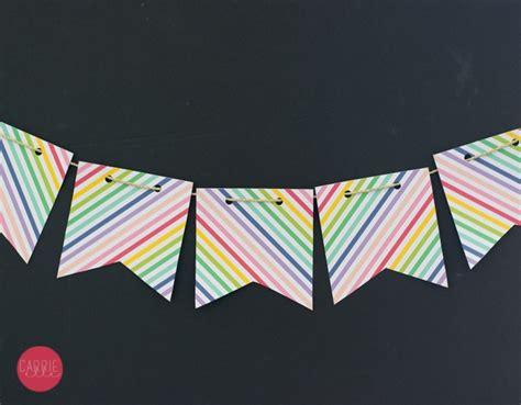free printable rainbow banner printable rainbow banner carrie elle