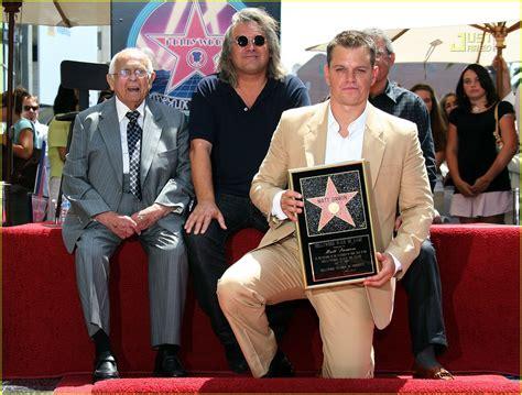 Matt Damon Gets His Walk Of Fame by Matt Damon Gets Walk Of Fame Photo 505821