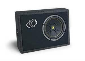 Kickers Prado Black buyers guide kicker performance audio tc10 sub