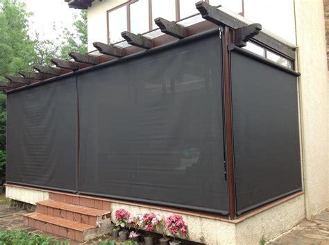cortinas exteriores enrollables cortinas exteriores toldos toldos casa hillside