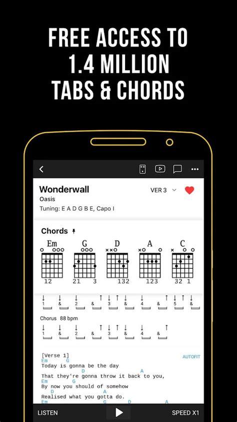 Ultimate Guitar Apk Chords & Tabs v5.11.6 Unlocked [Latest]