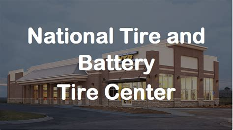 ntb tires center ntb tire prices services coupons