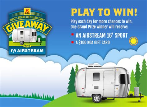 Rv Giveaway - enter the airstream rv giveaway reliable rv