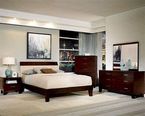 homelegance bedroom set homelegance bedroom set w low profile bed claran el2219set