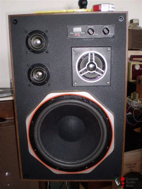 Speaker X9 2 vintage sansui sf x9 floor standing speaker system photo 248496 canuck audio mart