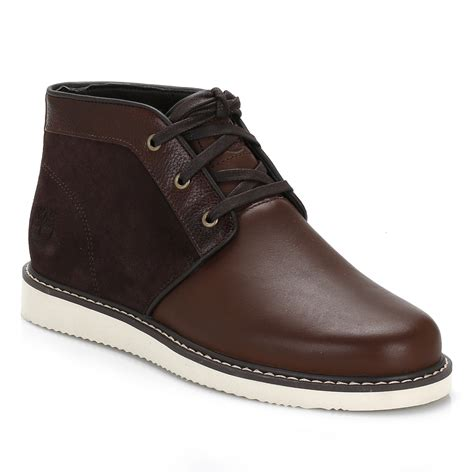 are timberland boots comfortable timberland mens boots brown newmarket chukka lace up