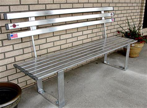 aluminum bench 6ft aluminum bench custom options marine outdoor