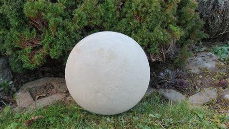 garten ideen aus beton deko f 252 r garten selber machen kugel ca 216 250 mm aus