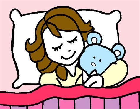 imagenes animadas de una niña nia durmiendo pintado por camila dc