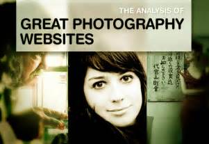 best photography websites the analysis of great photography websites with 40