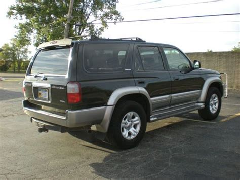 2002 Toyota 4runner Limited Sell Used 2002 Classic Toyota 4runner Limited 4wd In