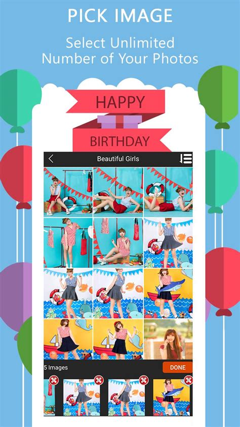 happy birthday video maker  android apk