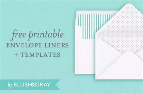 printable envelope liner template 4 free printable a7 envelope templates utemplates