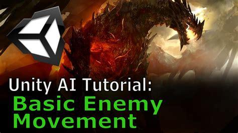 zombie ai tutorial unity basic enemy movement unity ai tutorial youtube