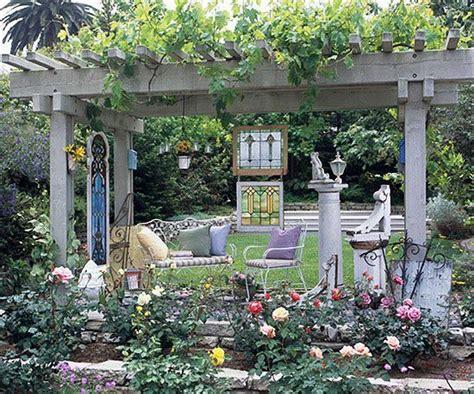 Whimsical Garden Ideas Whimsical Garden Ideas Stained Glass Quot Walls Quot From