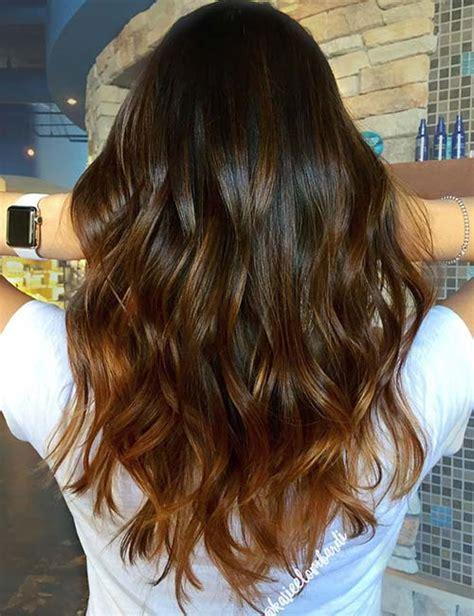 how to hightlight dark brown hair yourself 10 molten gold highlights frisuren und haare