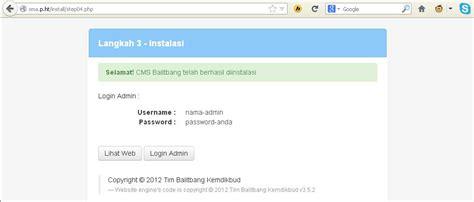 cara membuat website sekolah dengan html cara membuat web sekolah dengan cms balitbang semuanya ada