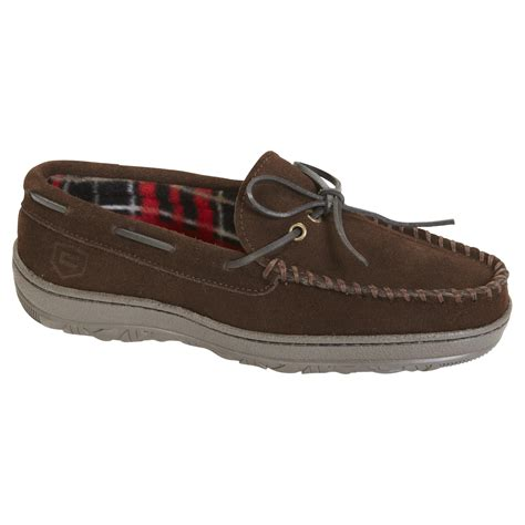 sears slippers for s grey keegan slipper craftsman comfort from sears