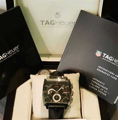 Tag Heuer Monaco Ls Automatic tag heuer stainless steel monaco ls automatic wristwatch