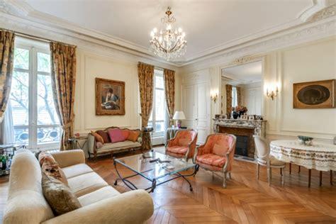 sale  elegant apartment  parc monceau