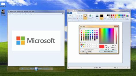 you at ms paint custom color palette you at photoshop spoof