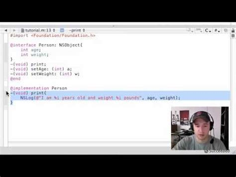 objective c programming tutorial – 5 – implementation