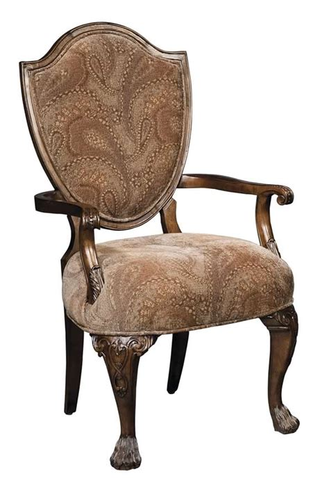 furniture upholstery new orleans hekman new orleans upholstered arm chair with fabric back