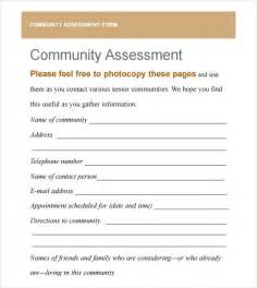 Community Template by Community Needs Assessment 9 Free For Pdf