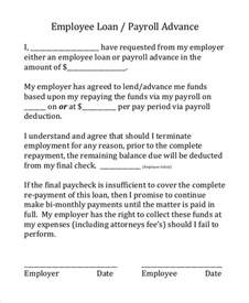 Employee Loan Agreement Template Free by Loan Agreement Form 9 Free Pdf Documents