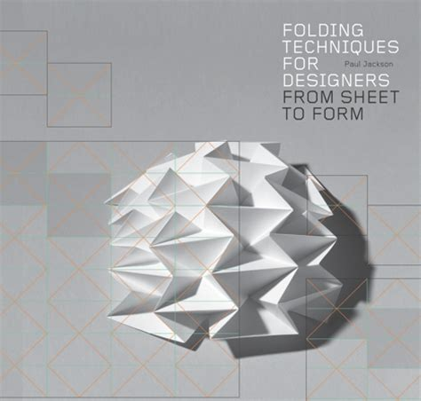 Origami Forms - book review folding techniques for designers by paul
