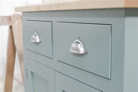 Kitchen Unit Knobs And Handles Freestanding Sideboard With Maple Top And High Quality Cup