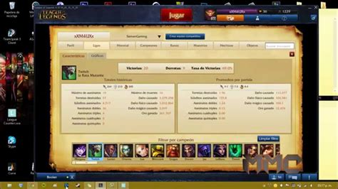 tutorial hack lol tutorial counter picks league of legends programa