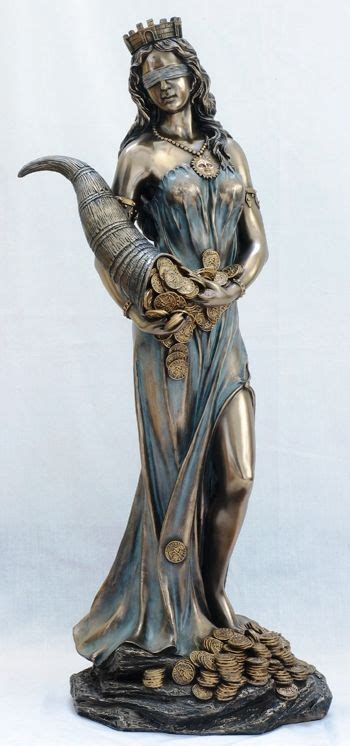Goddess Fortuna | lady luck roman goddess fortuna statue great poker trophy