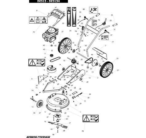E 4 E51 H D39h J Vue Eclatee Tracteur Tondeuse Murray Tracteur Agricole