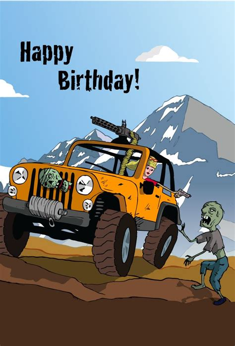 happy birthday jeep images jeep birthday card google search things that make me