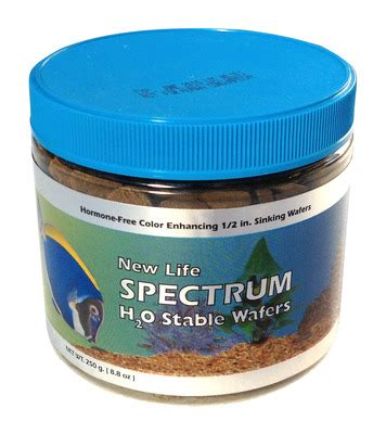 new spectrum algaemax wafers h20 stable wafers fish