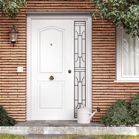 puertas de entrada casa puerta de entrada met 225 lica met 225 lica semiprovenzal blanca